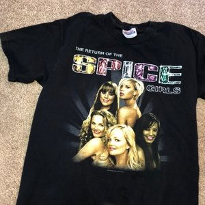Tops - 2007 Spice Girls Reunion Tour Shirt Size Youth L